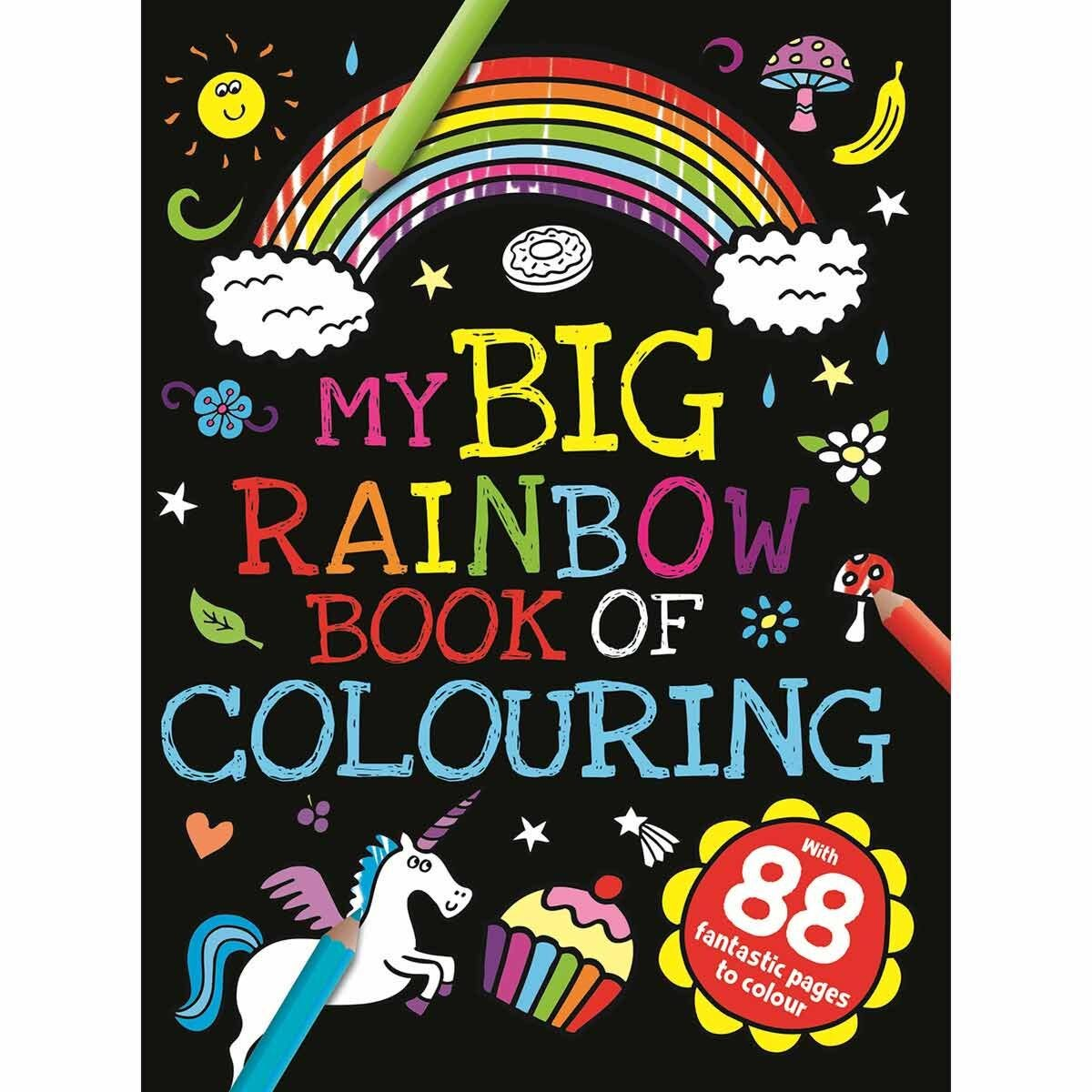 My Big Rainbow Colouring Book