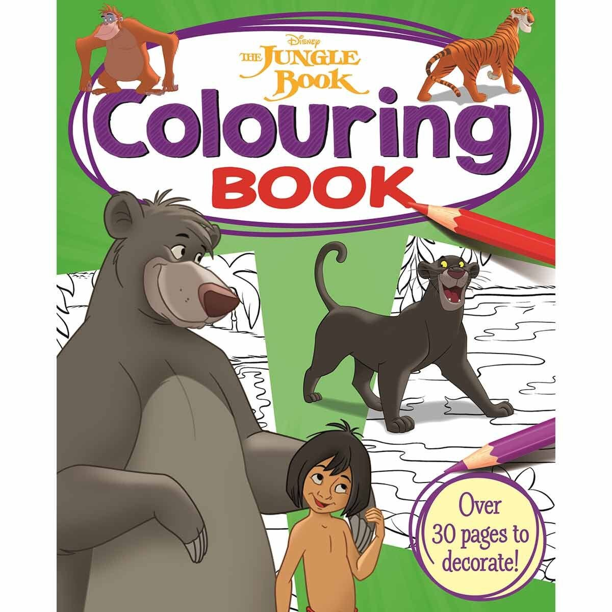 Disney Jungle Book Simply Colouring Book