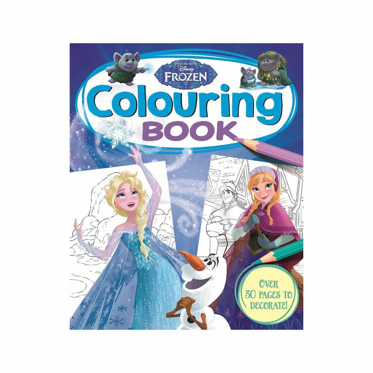 Disney Frozen Colouring Book