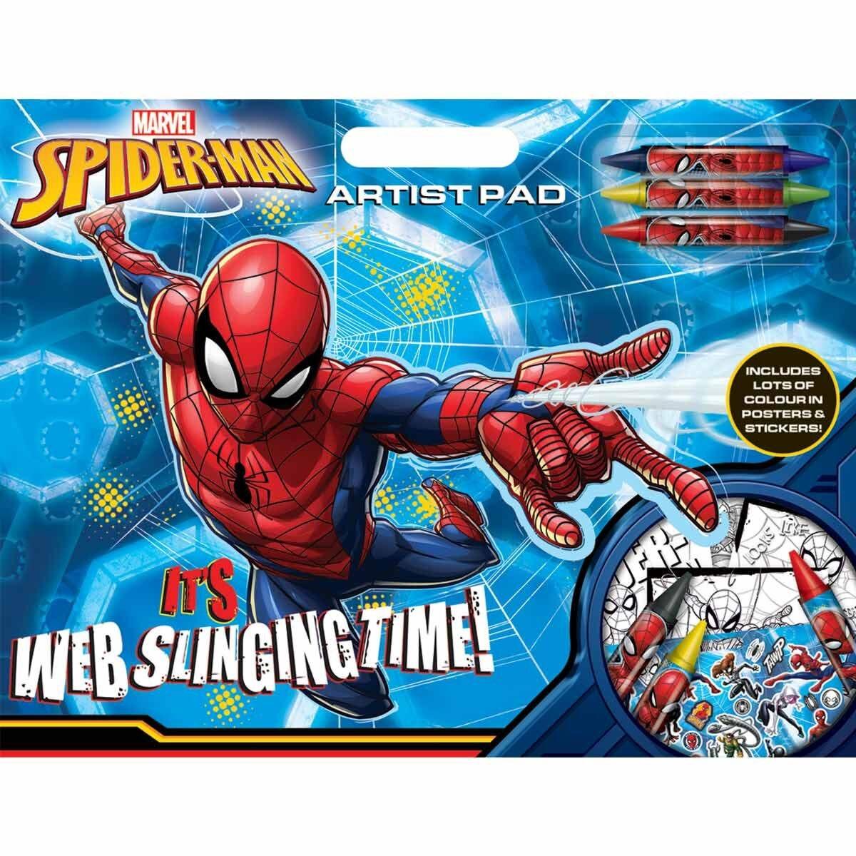 Marvel Spider-Man Artist Pad