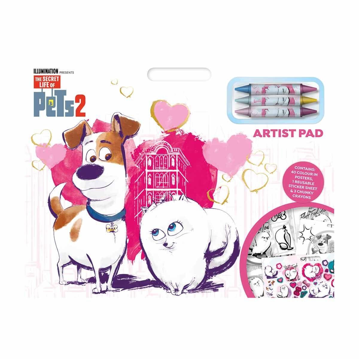 Secret Life of Pets 2 Artist Pad