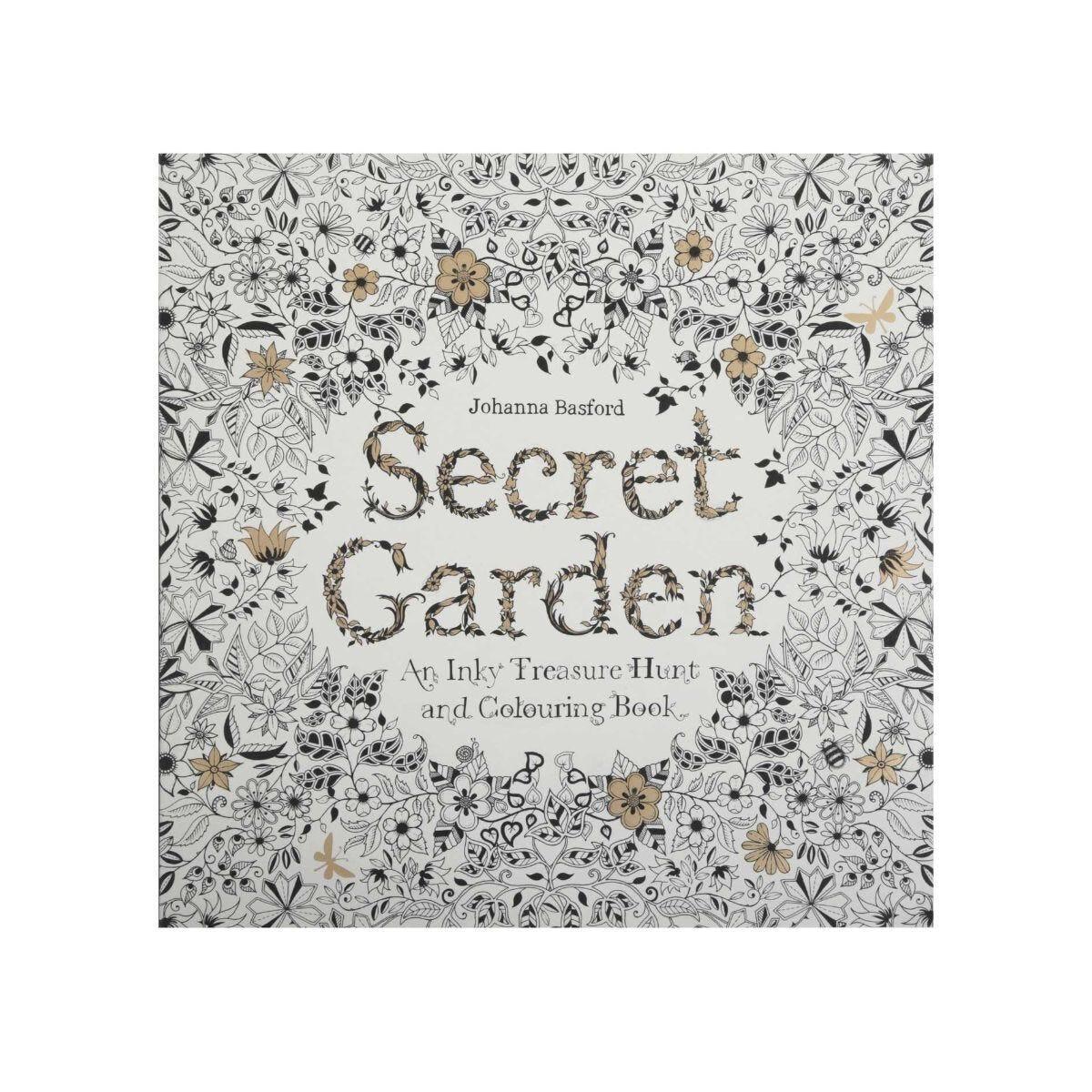 Secret Garden Colouring Book by Johanna Basford