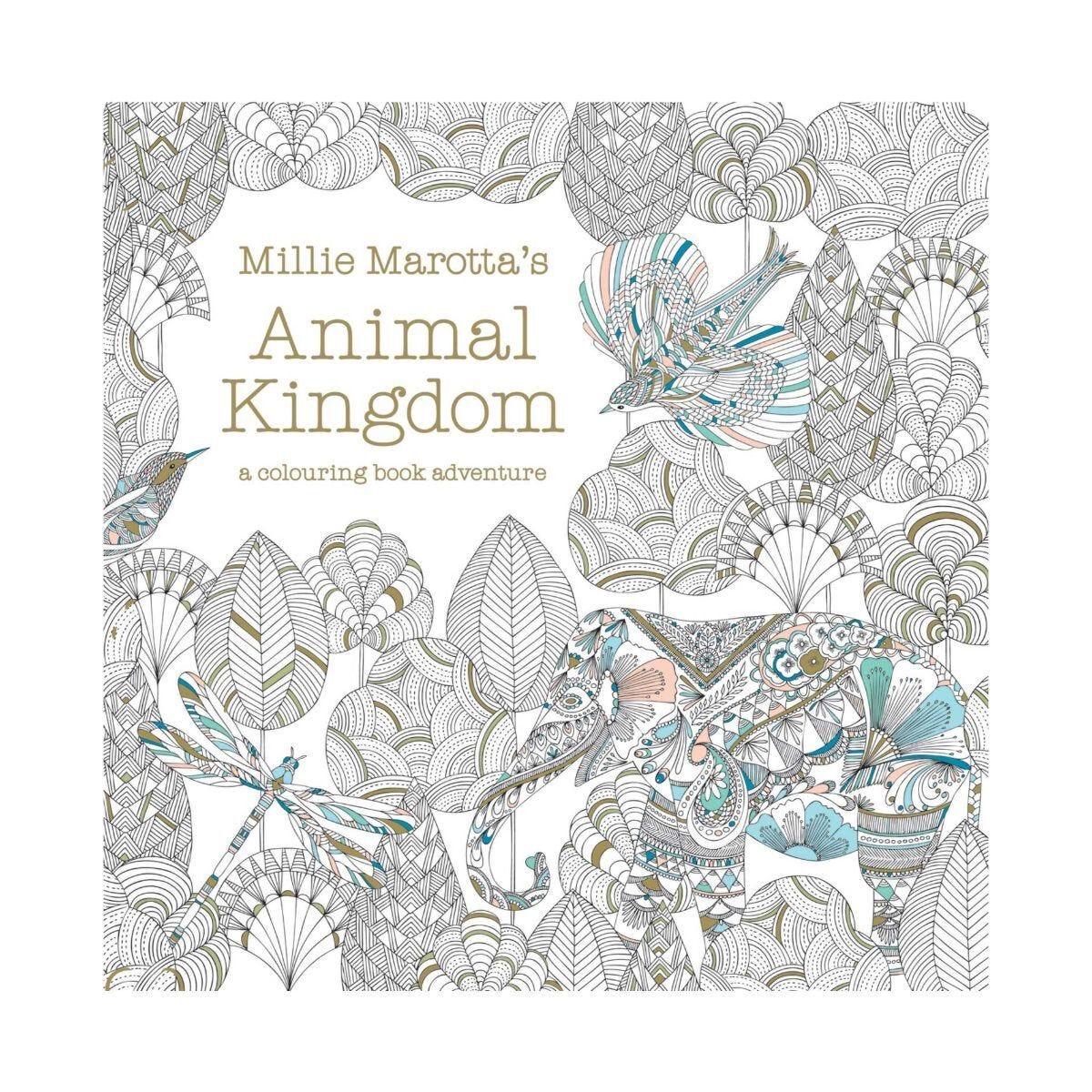 Millie Marotta's Animal Kingdom Colouring Book