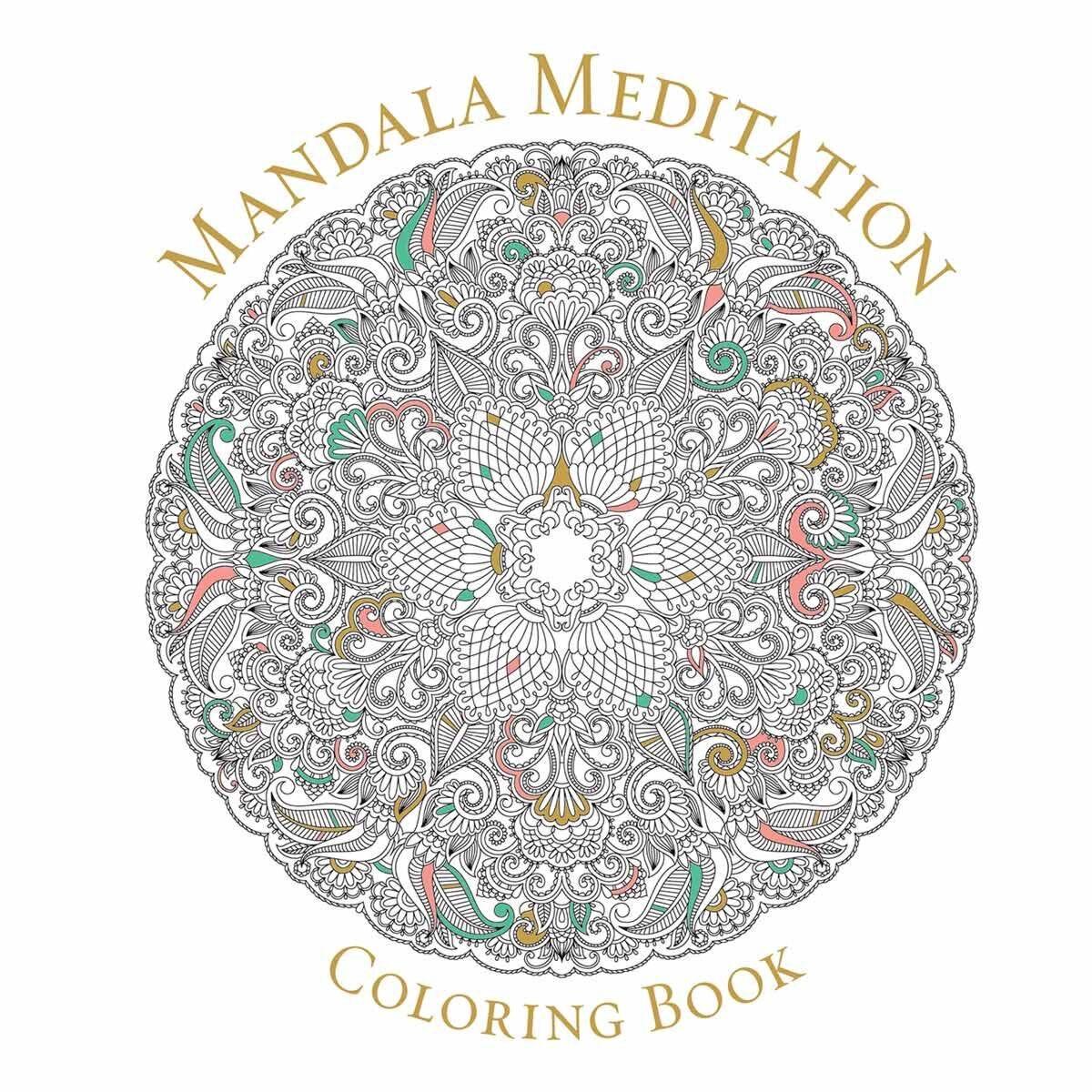Mandala Meditation Colouring Book