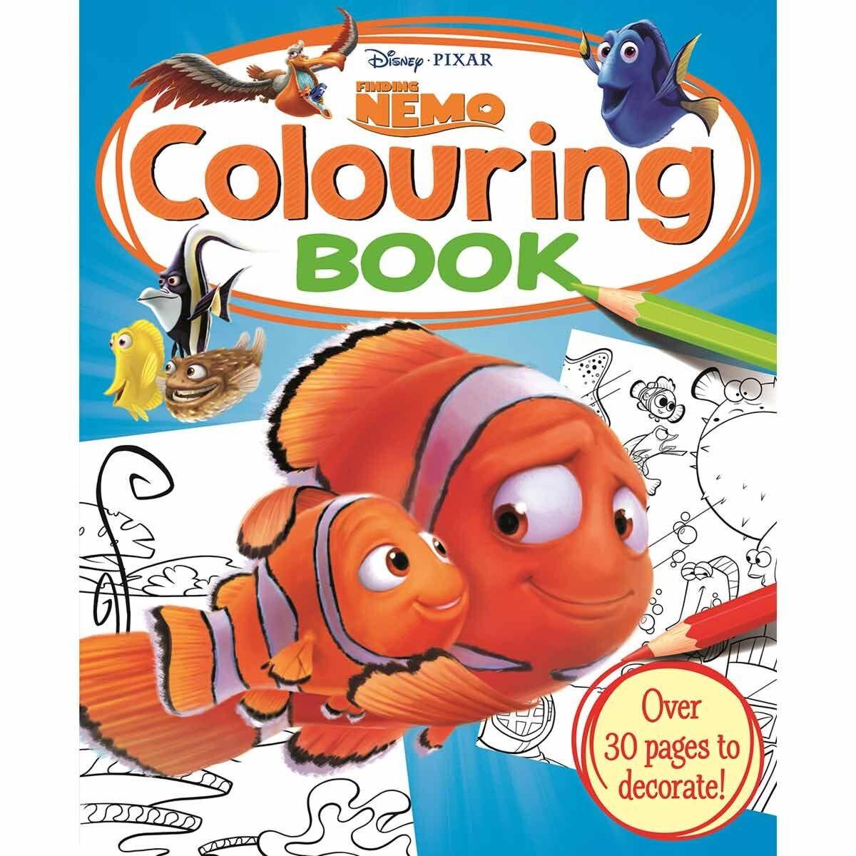 Disney Finding Nemo Simply Colouring Book