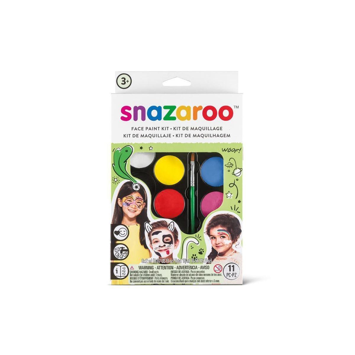 Snazaroo Face Painting Palette Kit