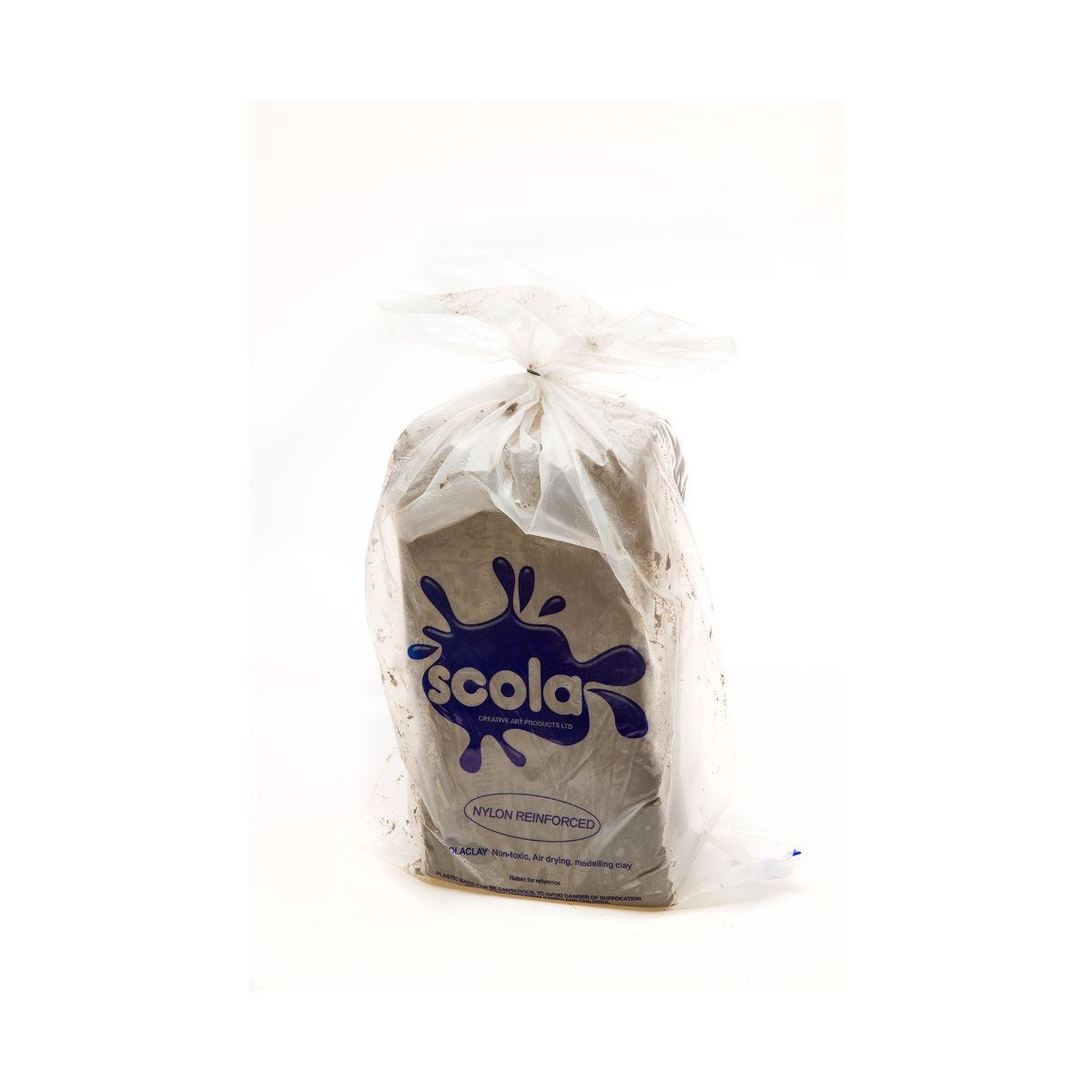Scolaquip Air Drying Clay 12.5kg Stone