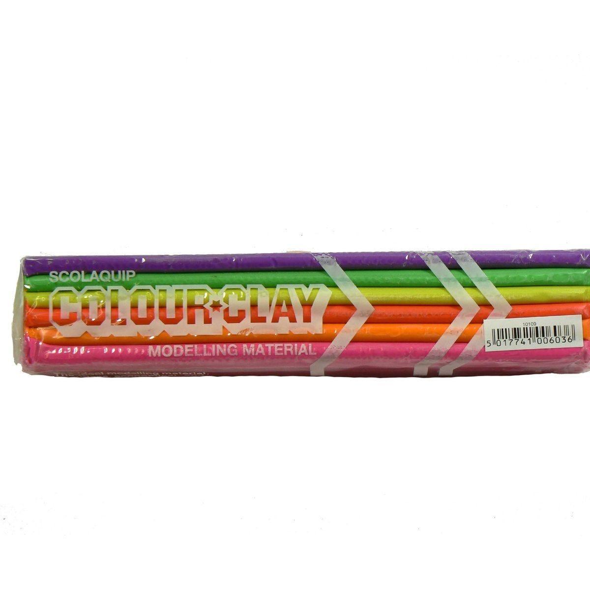 Scolaquip Colour Clay 500g Bar