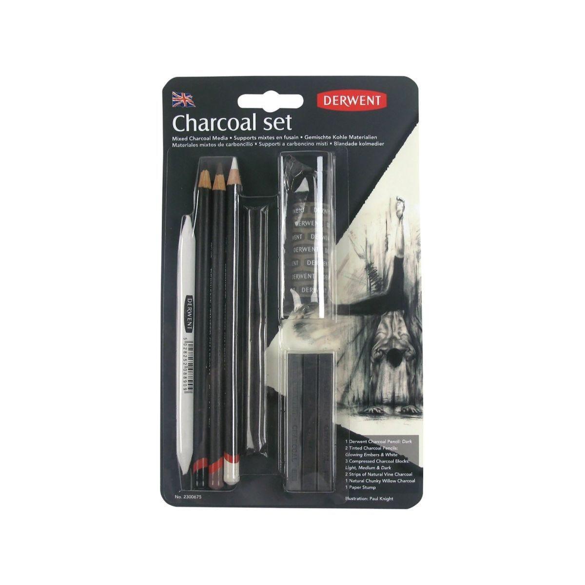 Derwent Charcoal Set