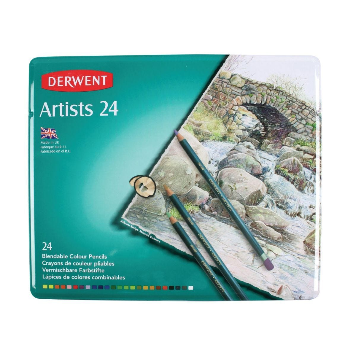 Derwent Artists Pencils Set of 24