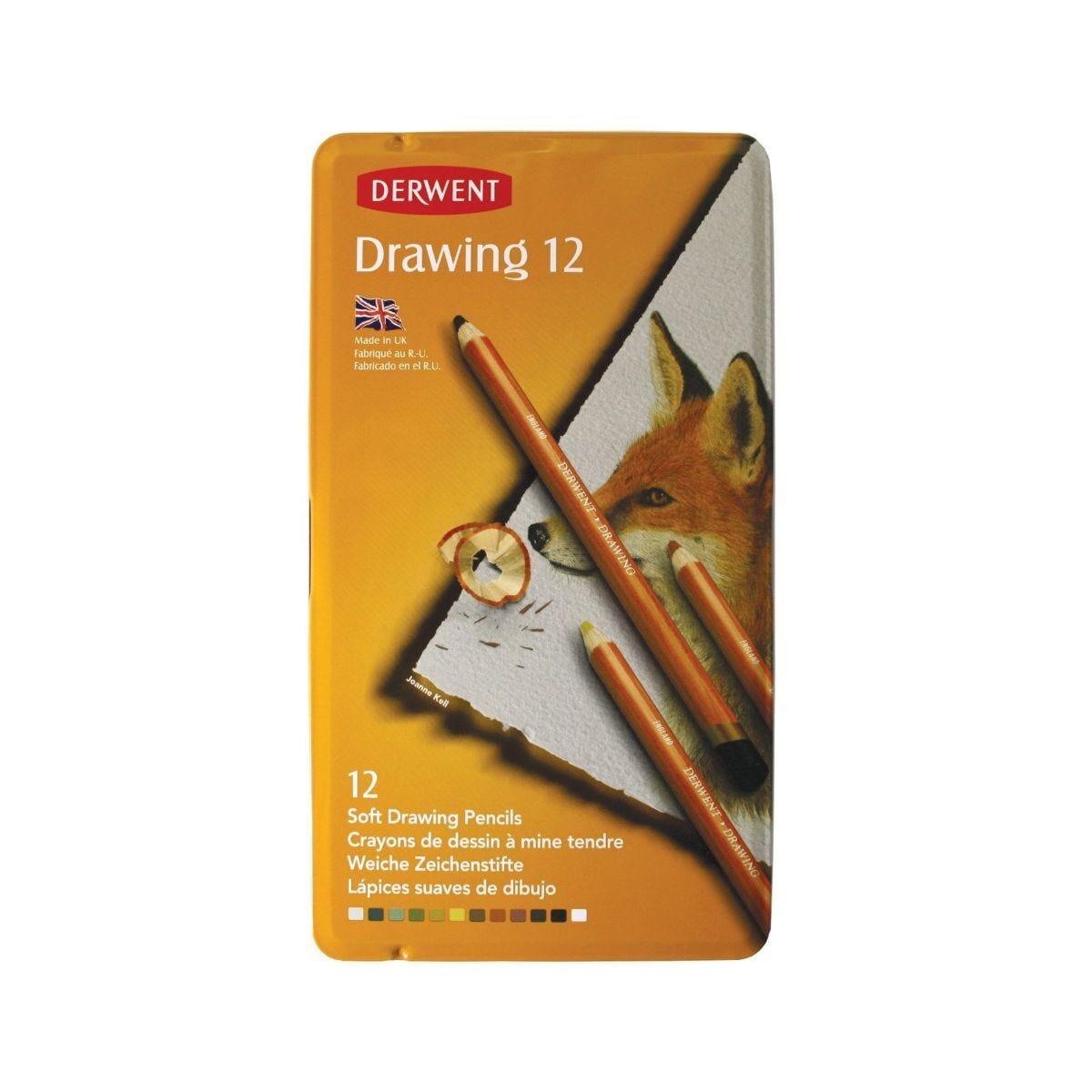 Derwent Drawing Pencils 12