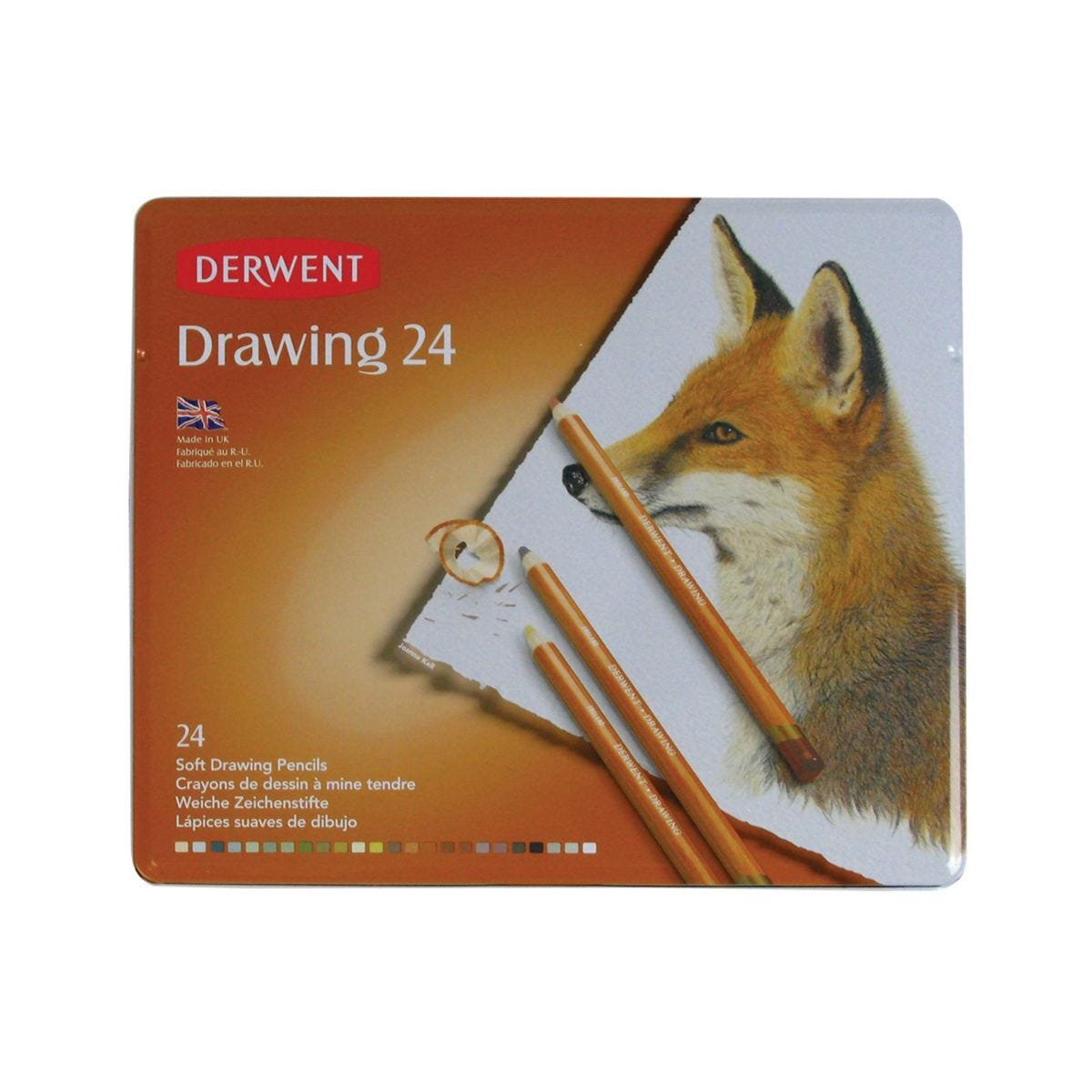 Derwent Drawing Pencils Set of 24