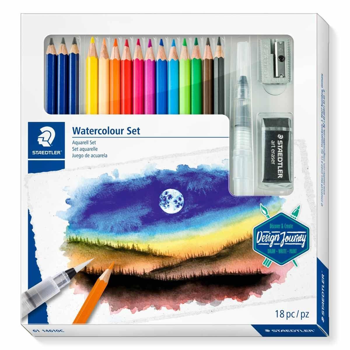 Staedtler Design Journey Watercolour Set