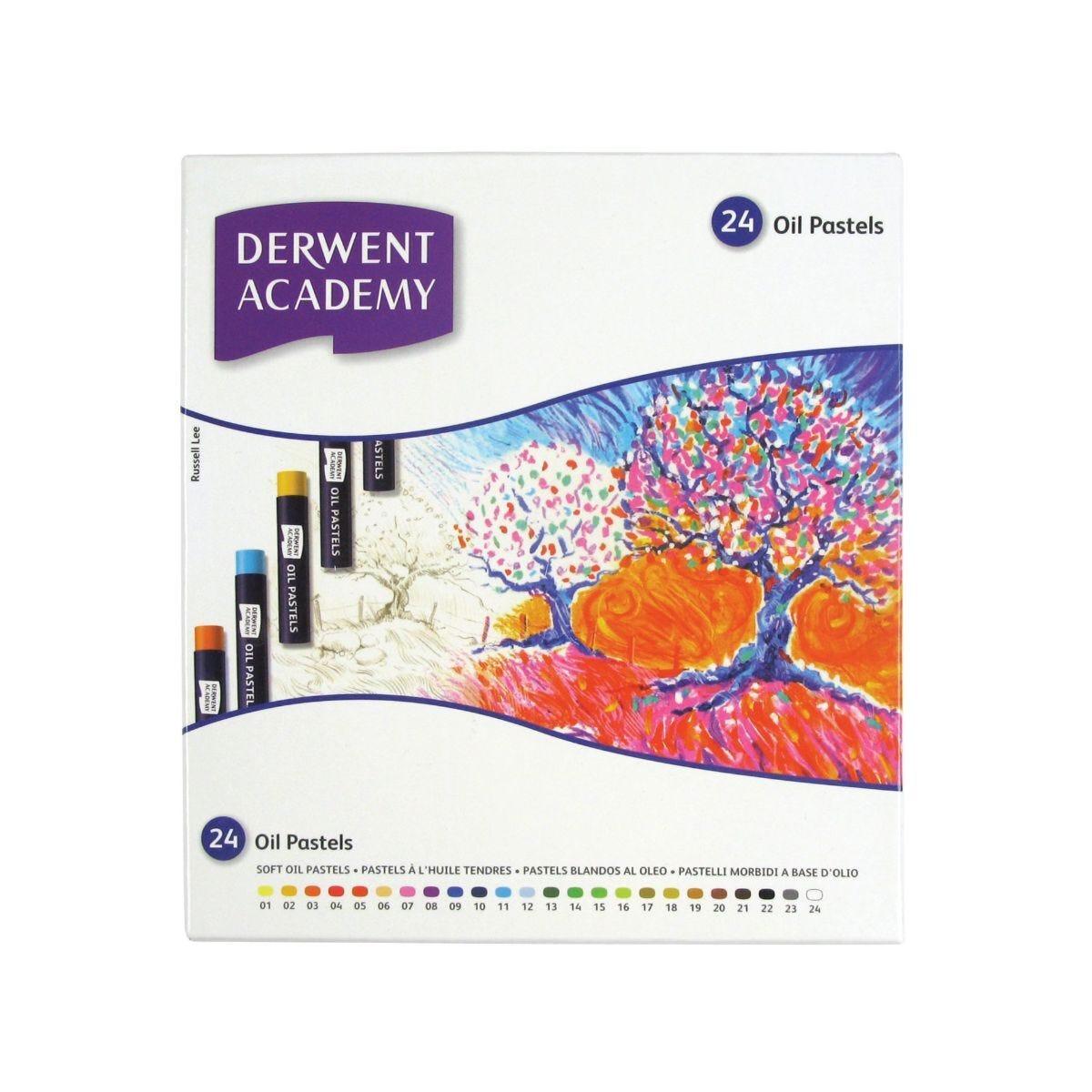 Derwent Academy Oil Pastels Set of 24