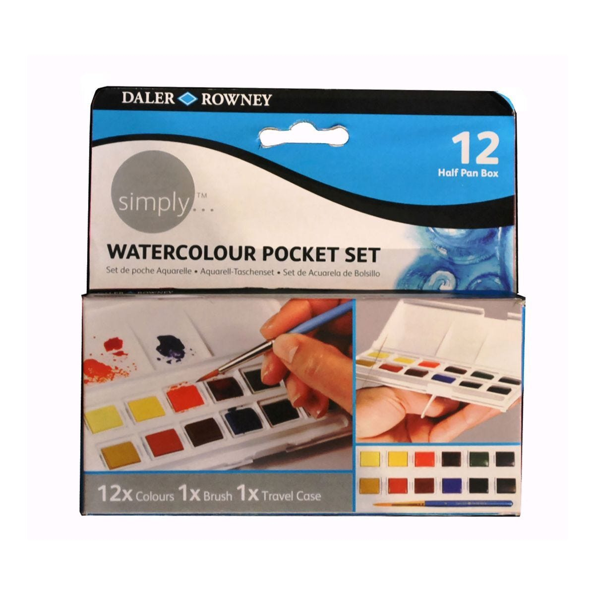 Daler Rowney Simply Watercolour Pocket Set
