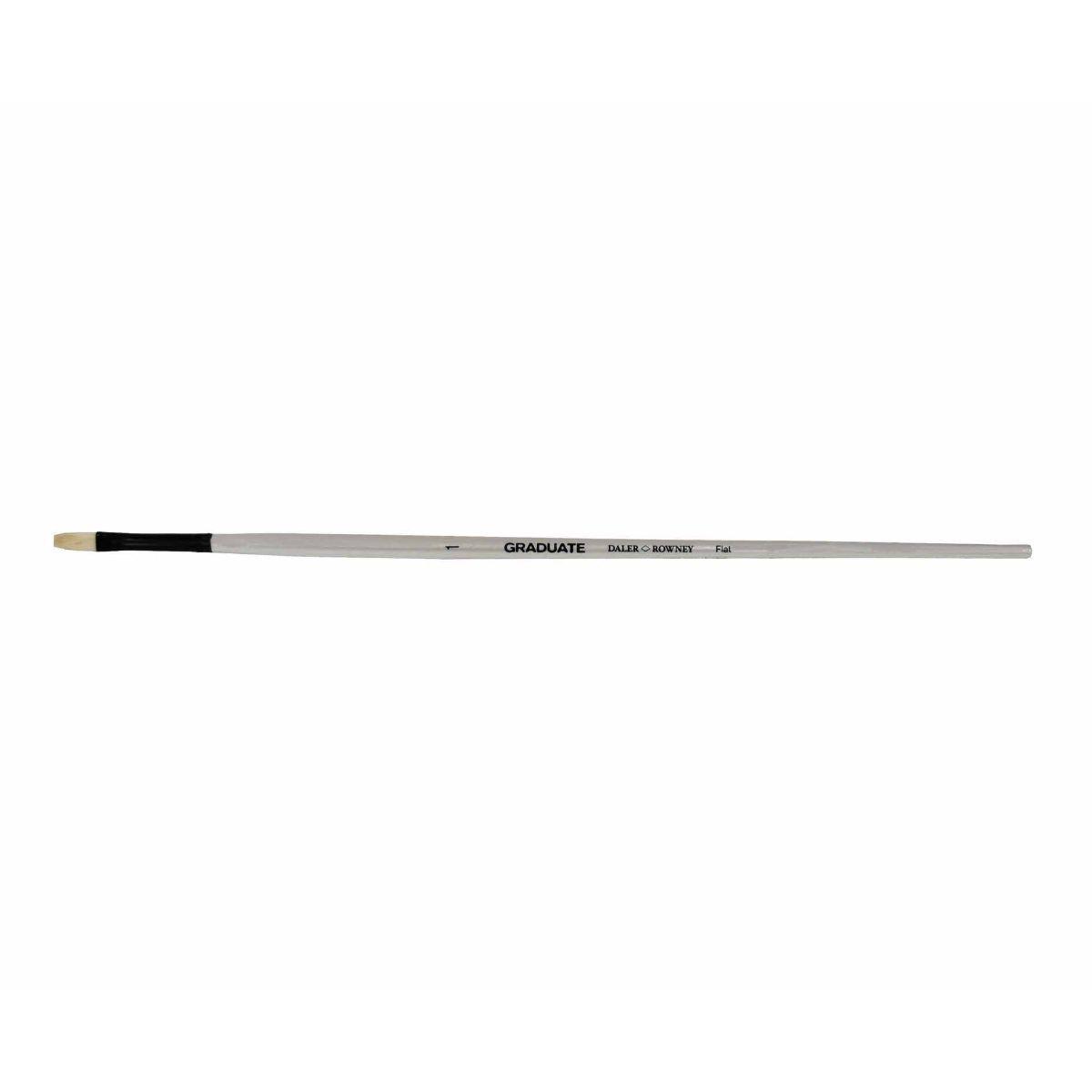 Daler Rowney Graduate Brush Bristle Flat 1LH