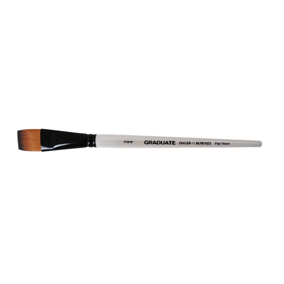 Daler Rowney Graduate Brush Flat Wash Three Quarter