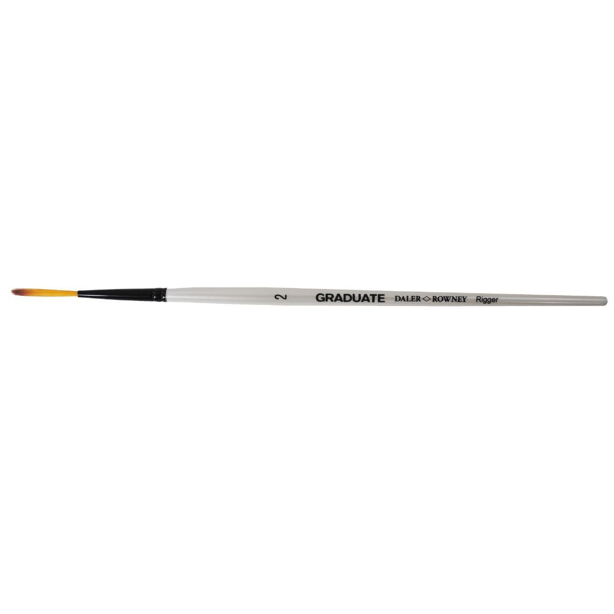 Daler Rowney Graduate Brush Dark Tip Synthetic Rigger 2