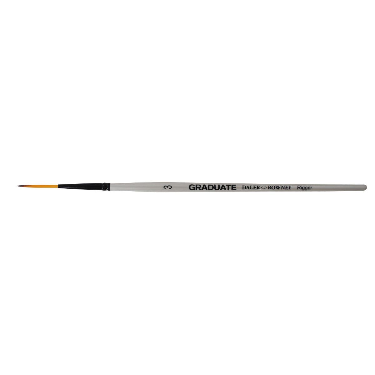 Daler Rowney Graduate Brush Dark Tip Synthetic Rigger 3