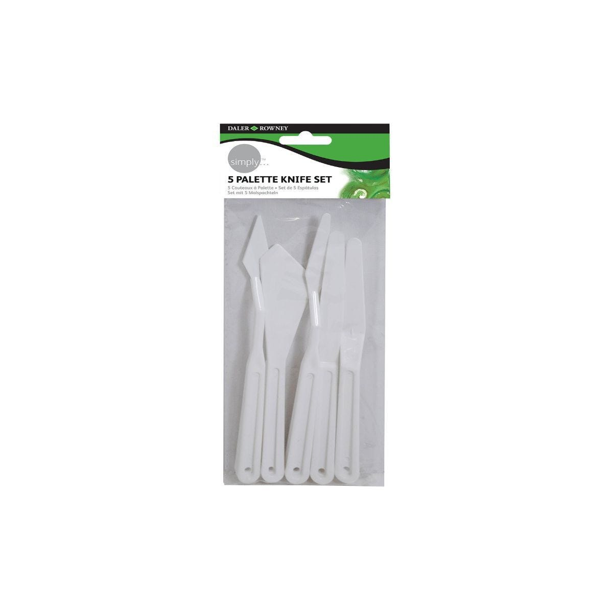 Daler Rowney Simply Palette Knives Pack of 5
