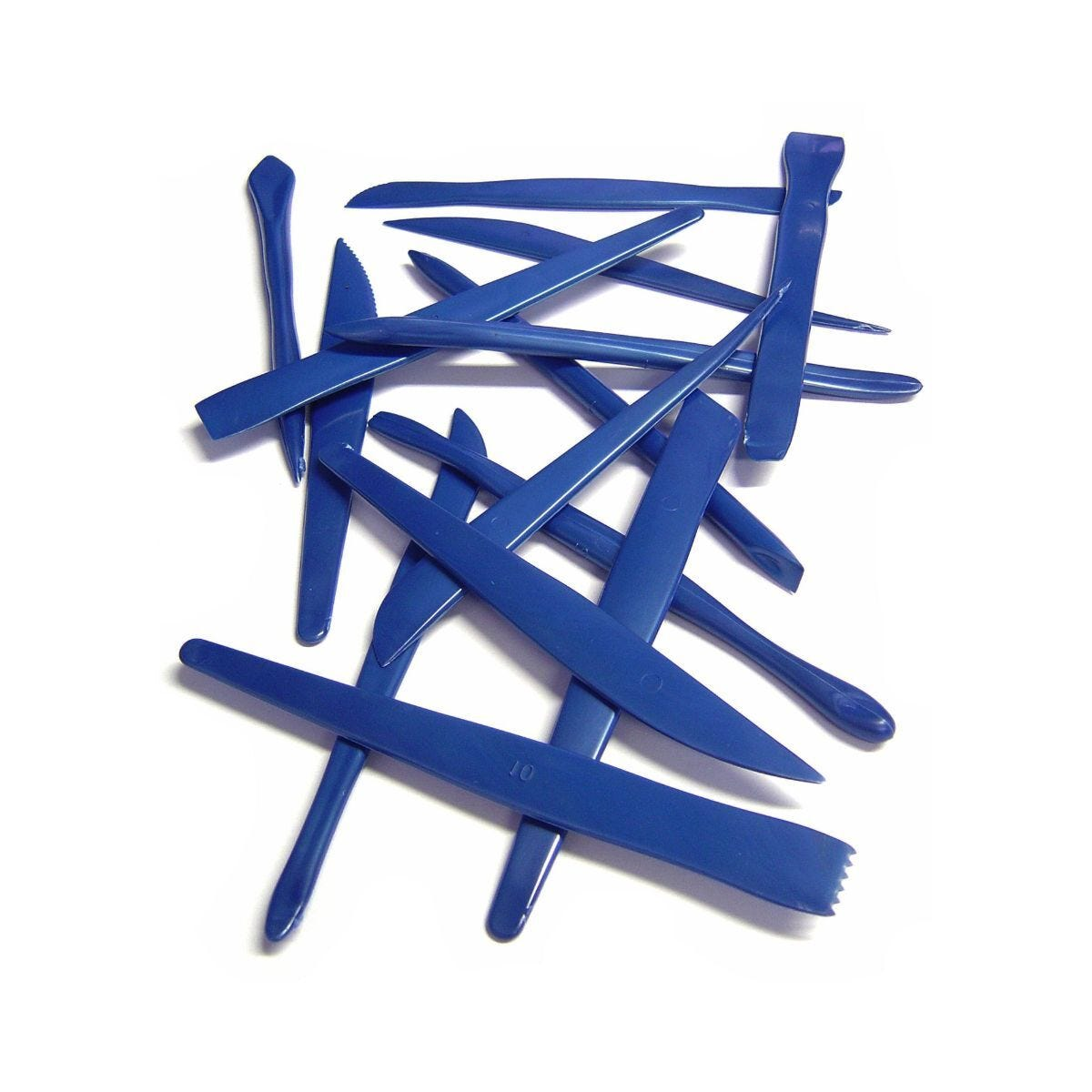 Plastic Modelling Clay Tools Pack of 14