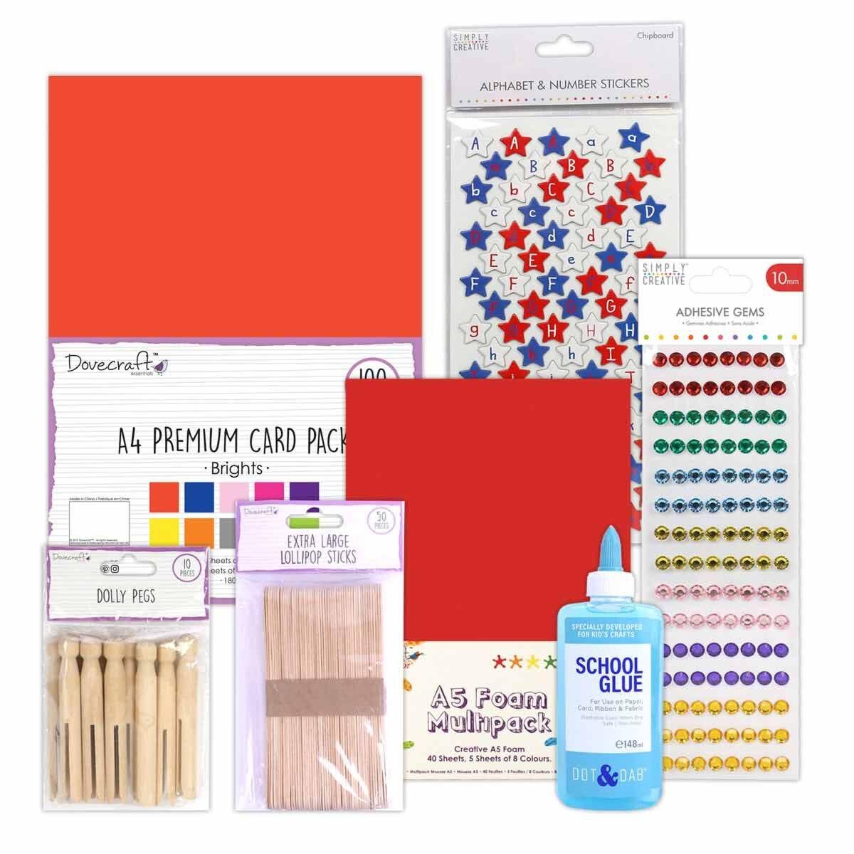Kids Craft Essentials Kit