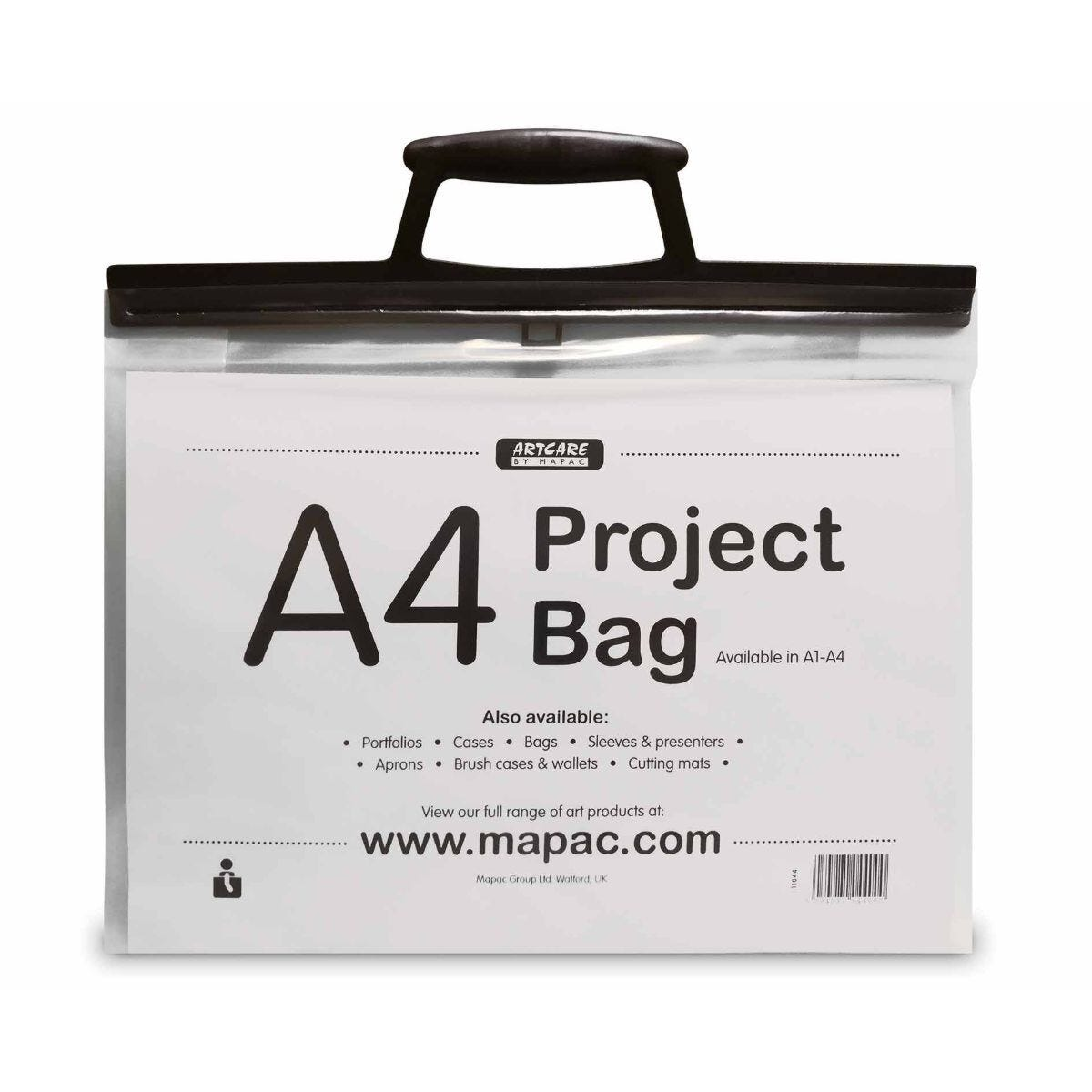 Mapac A4 Clear Project Bag