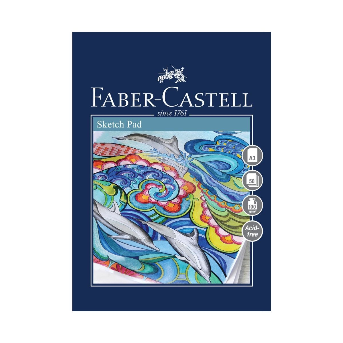 Faber Castell Creative Studio Sketch Pad 50 Sheets A3