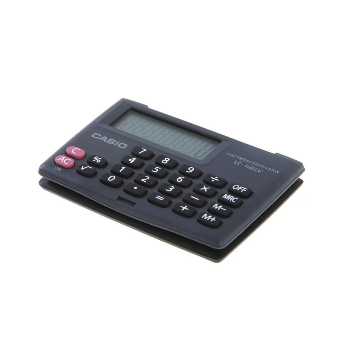 Casio LC-160LV Pocket Calculator