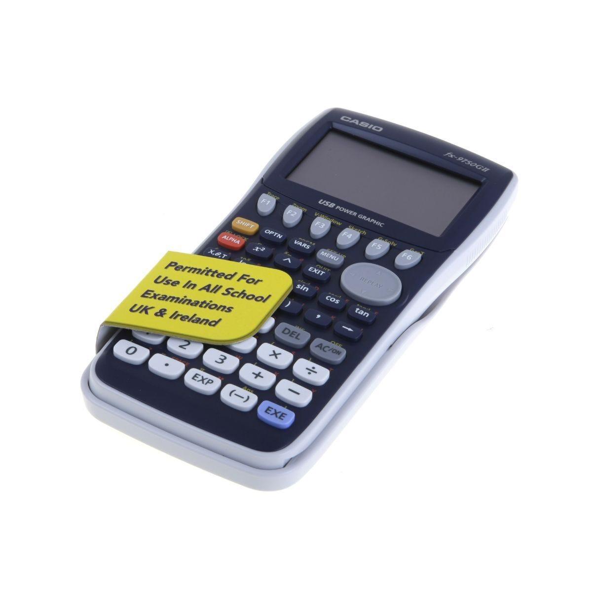 Casio FX-9750GII Graphic Handheld Calculator