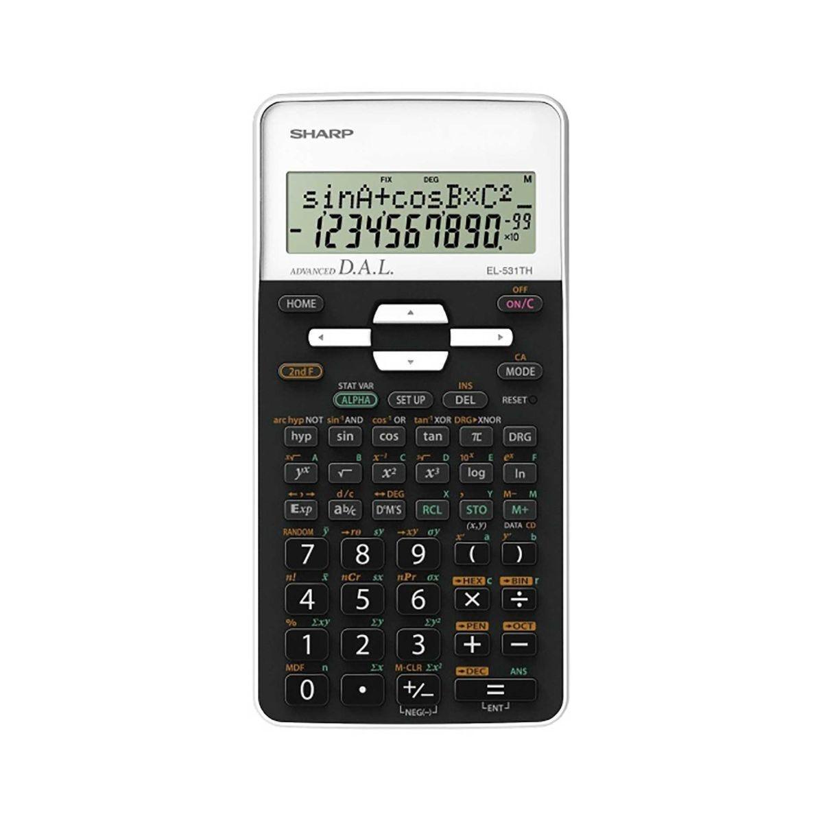 Sharp  EL-531THB-WH Scientific Calculator