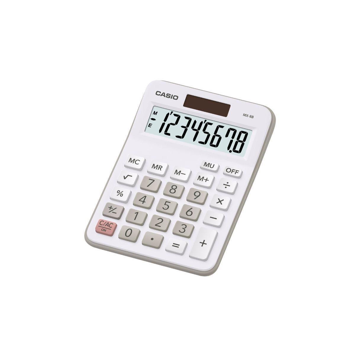 Casio MX8B Semi Desk Calculator