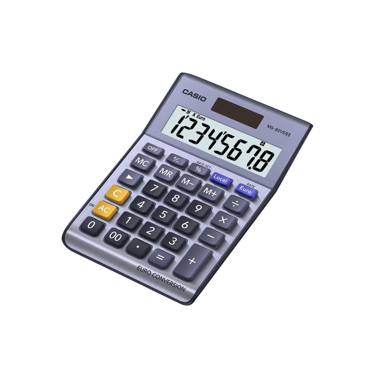 Casio MS-80VER Semi Desk Calculator