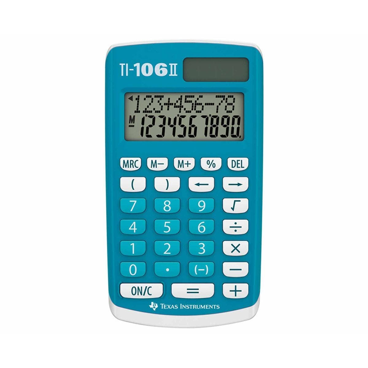Texas Instruments TI106 II 4 Function Calculator