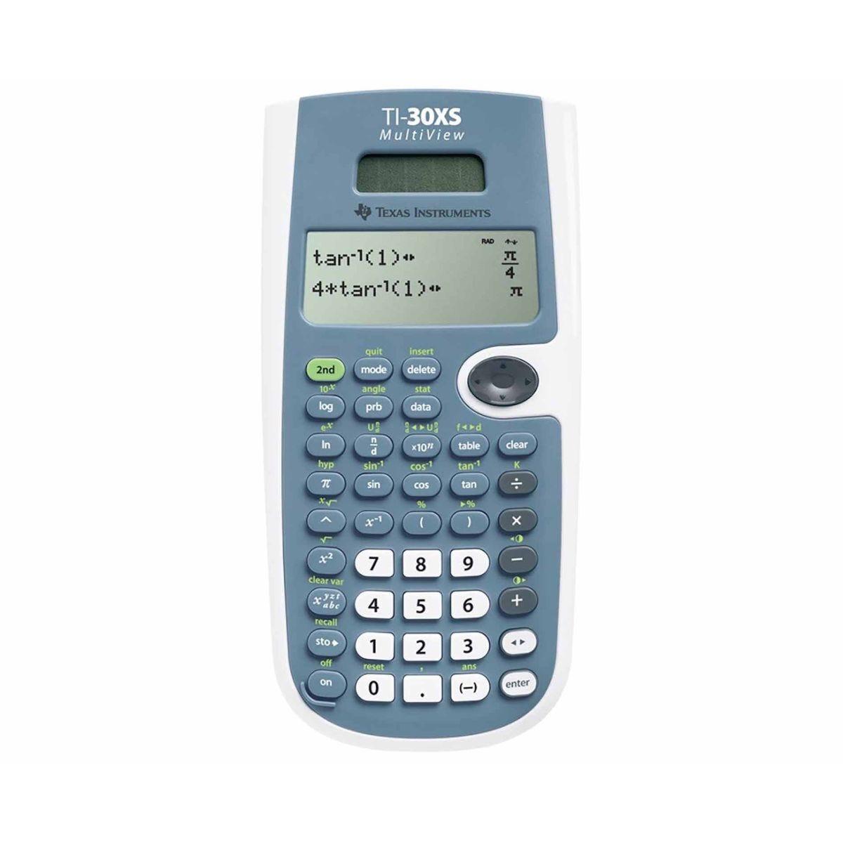 Texas Instruments TI30XS Calculator Multi-line Display