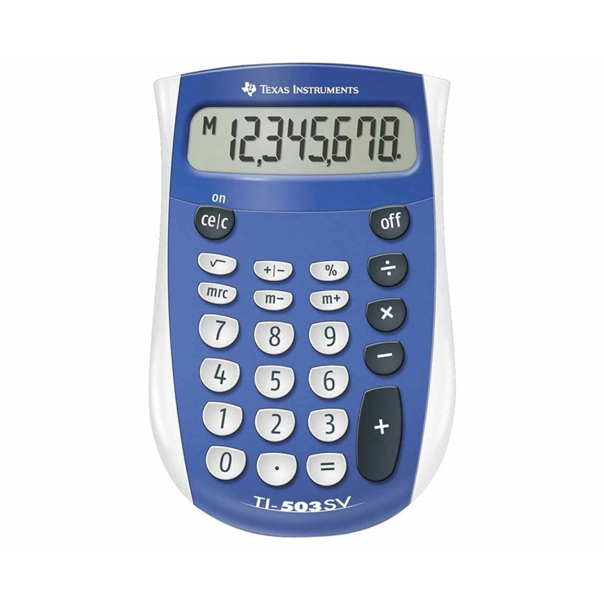 Texas Instrument TI503SV Pocket Calculator