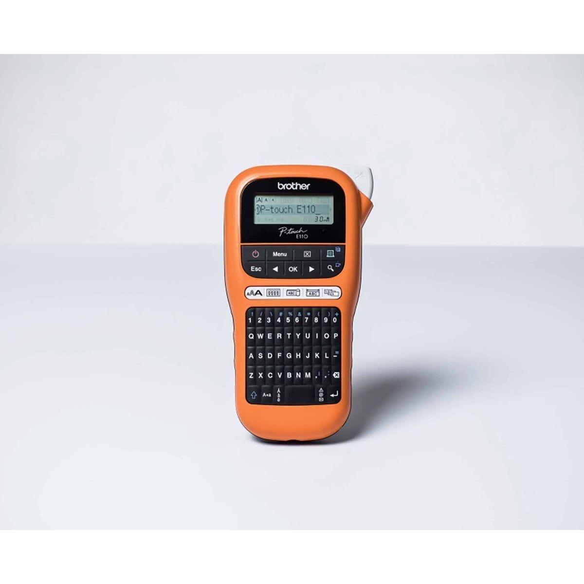 Brother PTE110 Handheld Industrial Label Printer