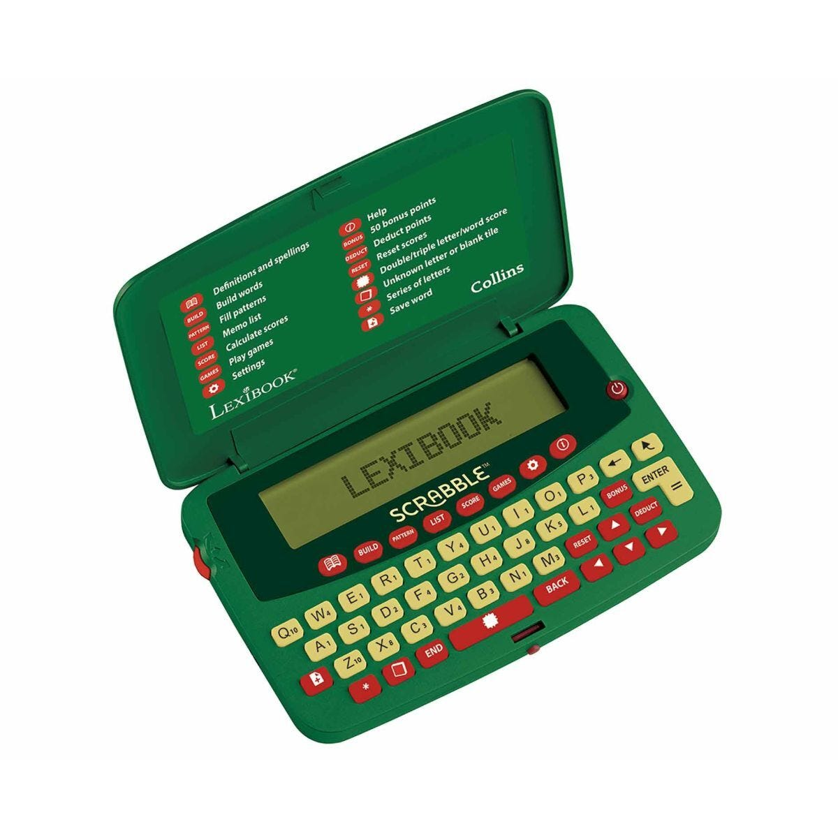 Lexibook Official Scrabble Dictionary Deluxe