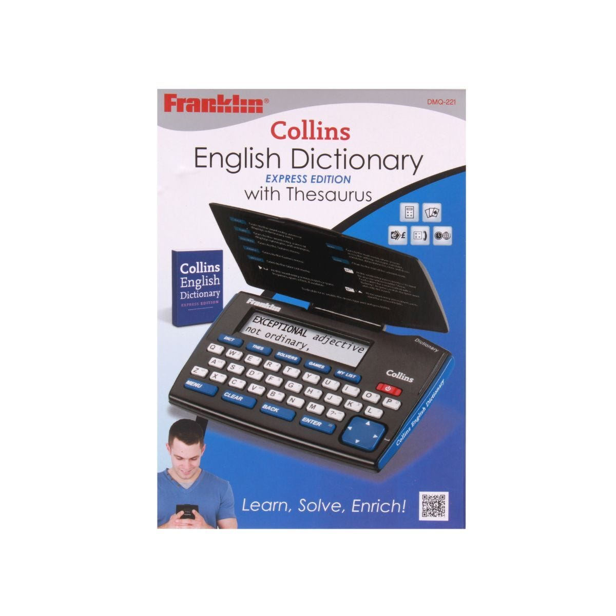 Franklin Express English Dictionary and Thesaurus