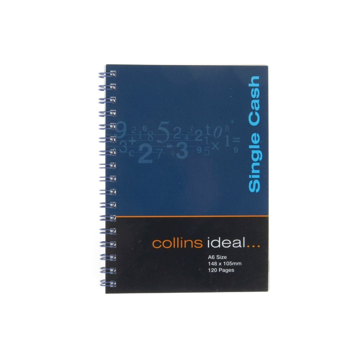 Collins deal Account Book A6 Single Cash 120 Pages 60 Sheets