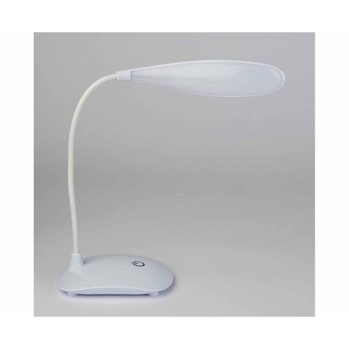 Adjustable USB Desk Lamp White