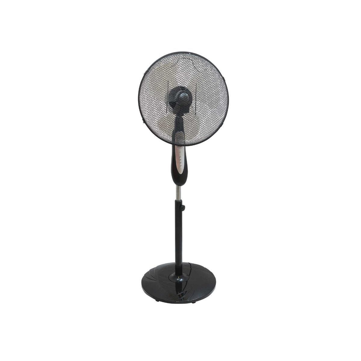 Ryman Oscillating Standing Fan with Remote Control 16-inch