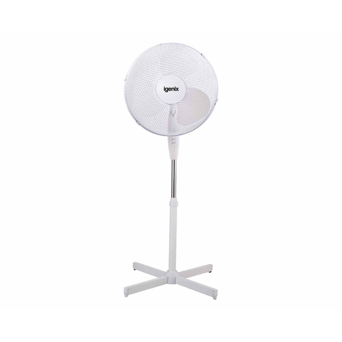 Igenix 16 inch Oscillating Pedestal Floor Fan