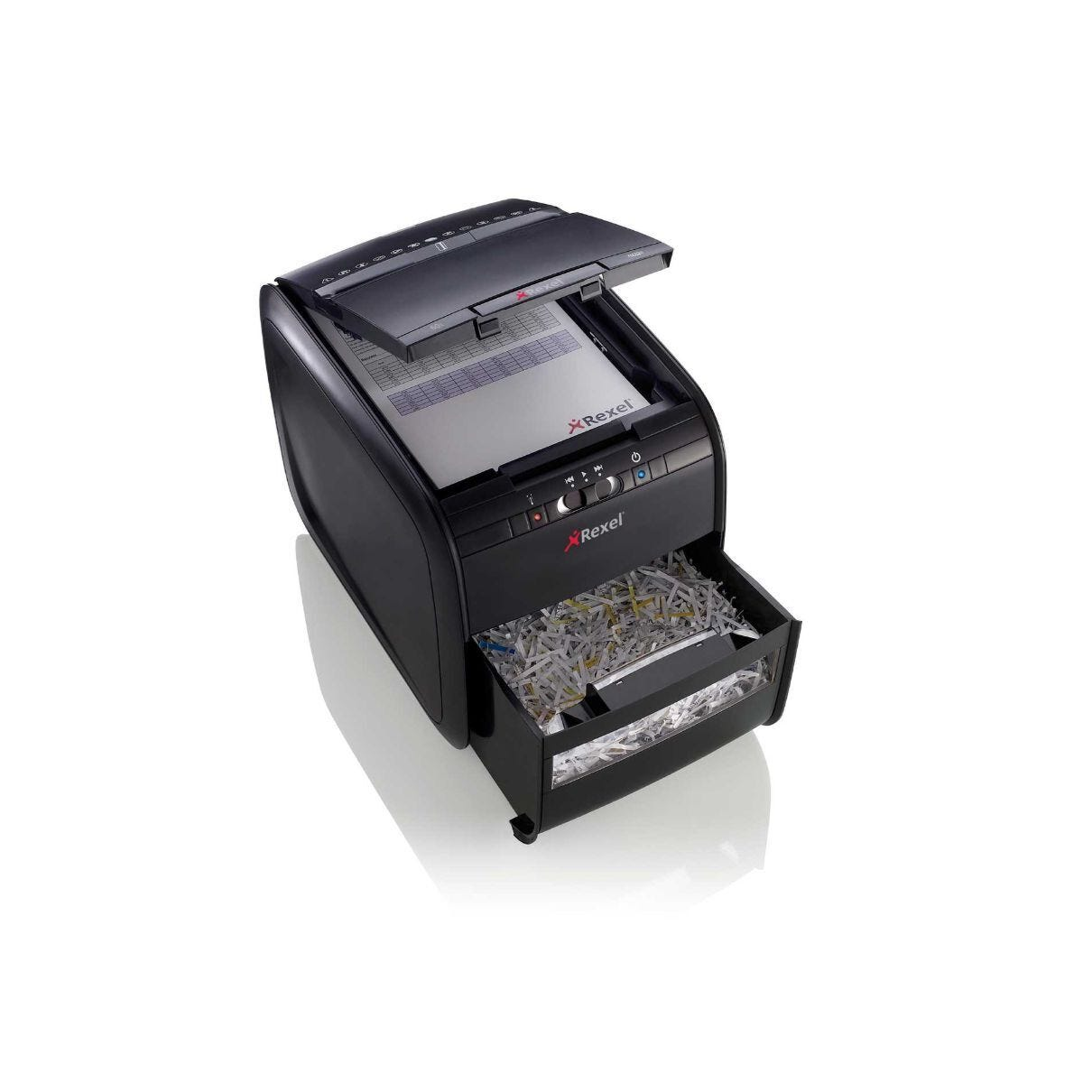 Rexel Auto+ 60X 60 Sheet Cross Cut Shredder