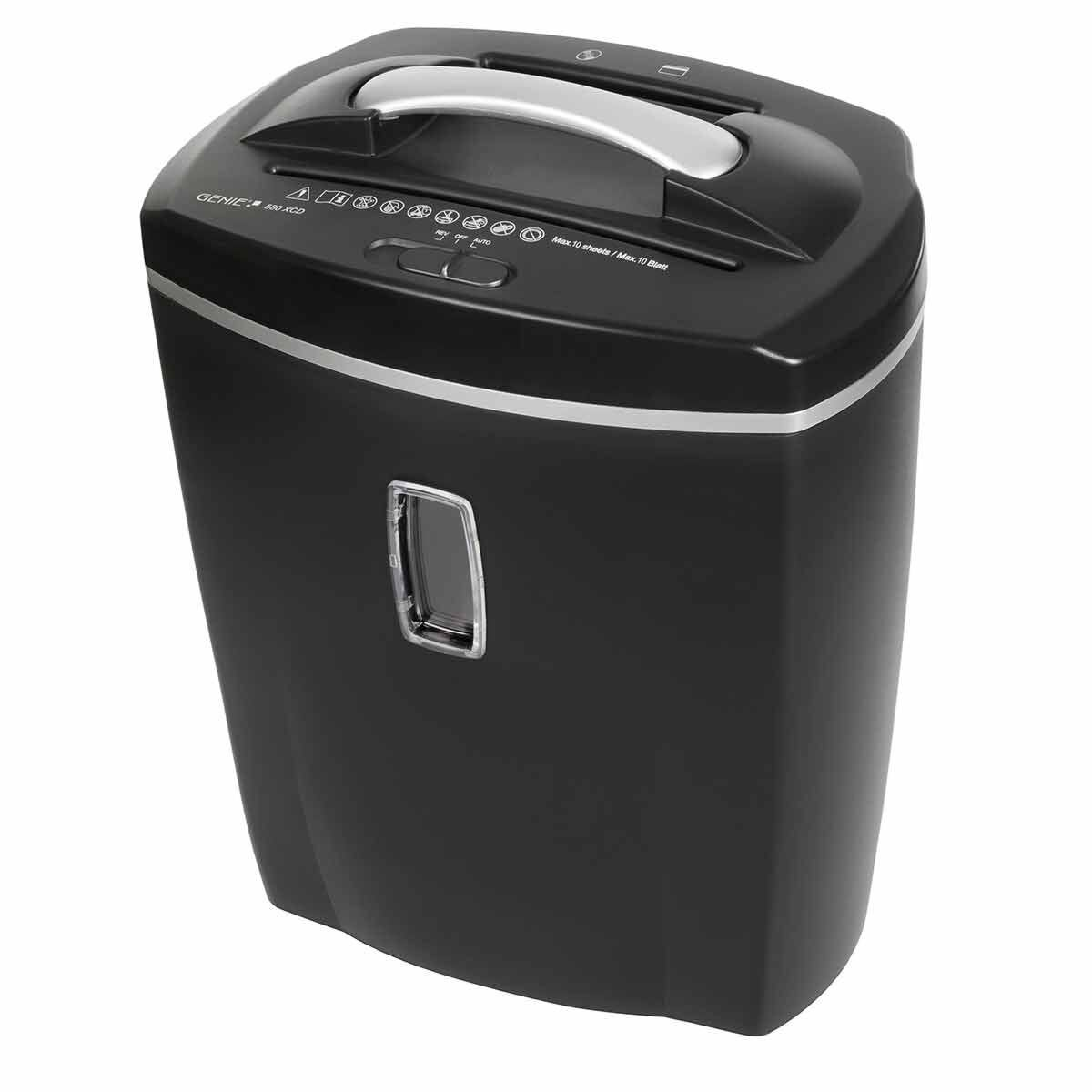Genie 580 XCD 8 Sheet Cross Cut Shredder