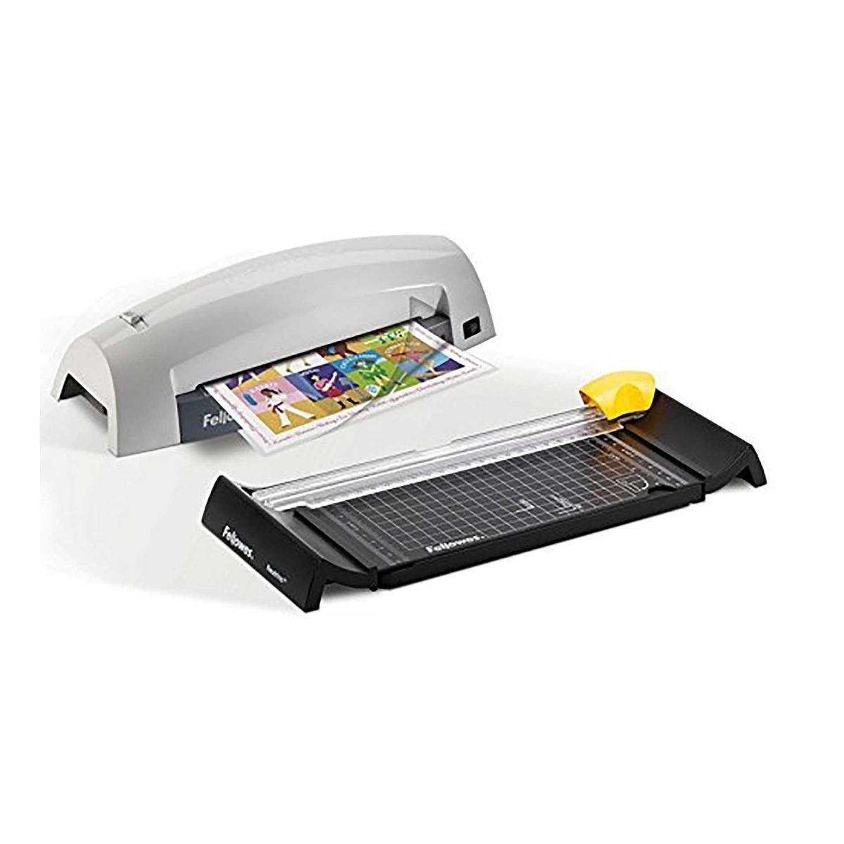 Fellowes Lunar A4 Laminator and Trimmer Craft Pack