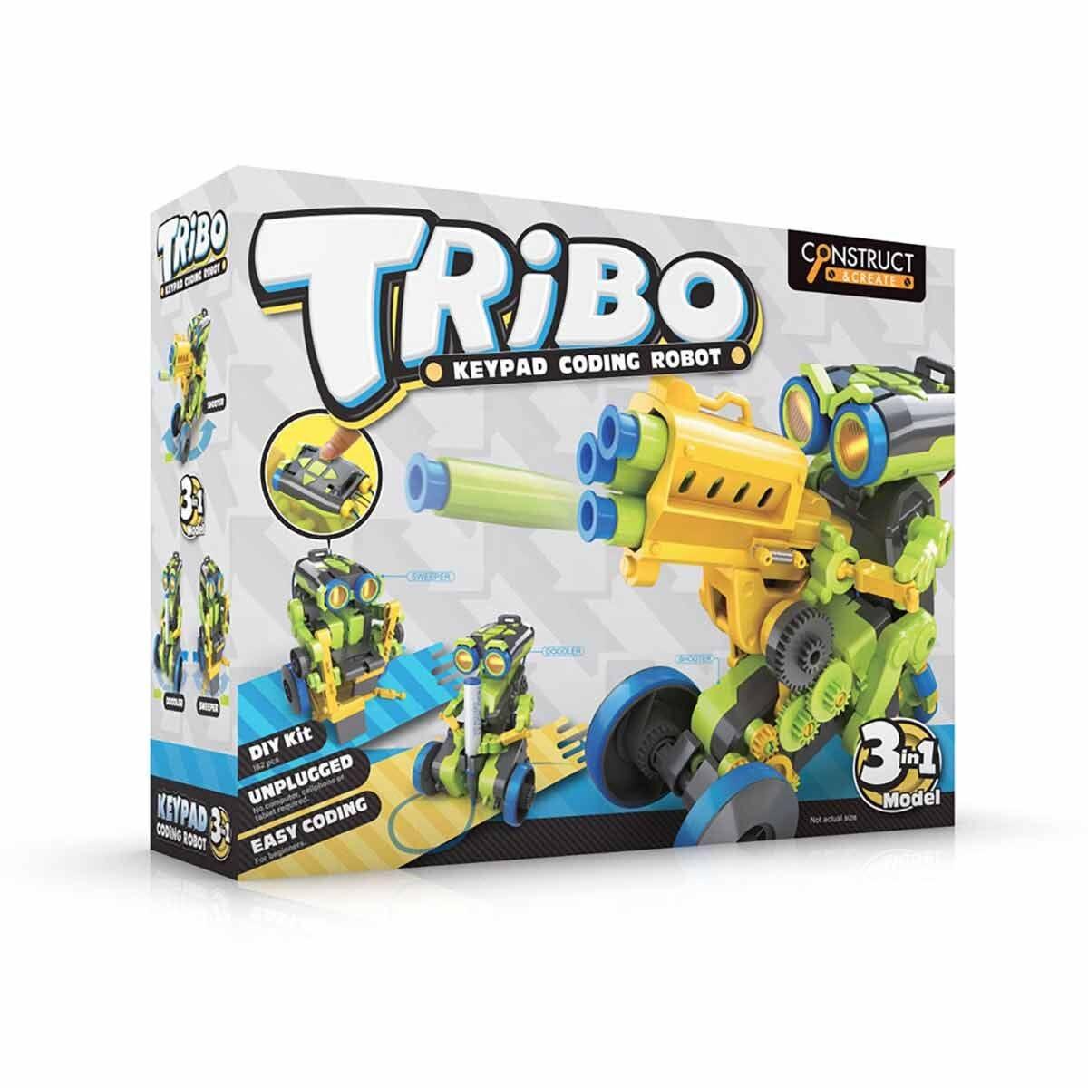 Tribo 3 in 1 Coding Robot Kit