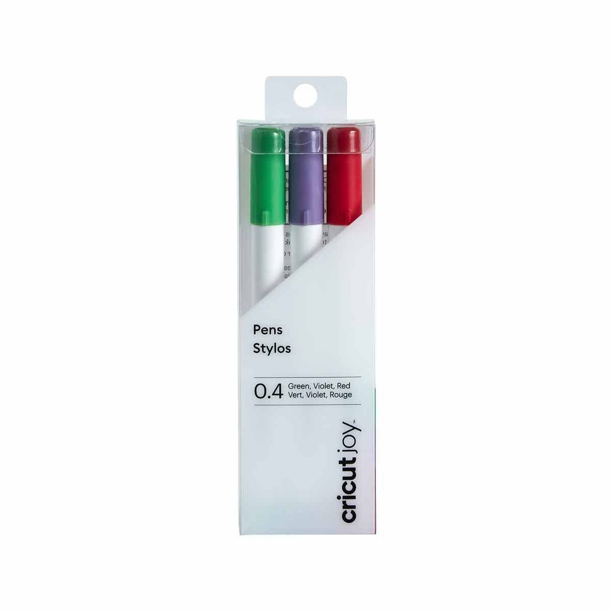 Cricut Joy Fine Point Pen Set Red/Green/Violet