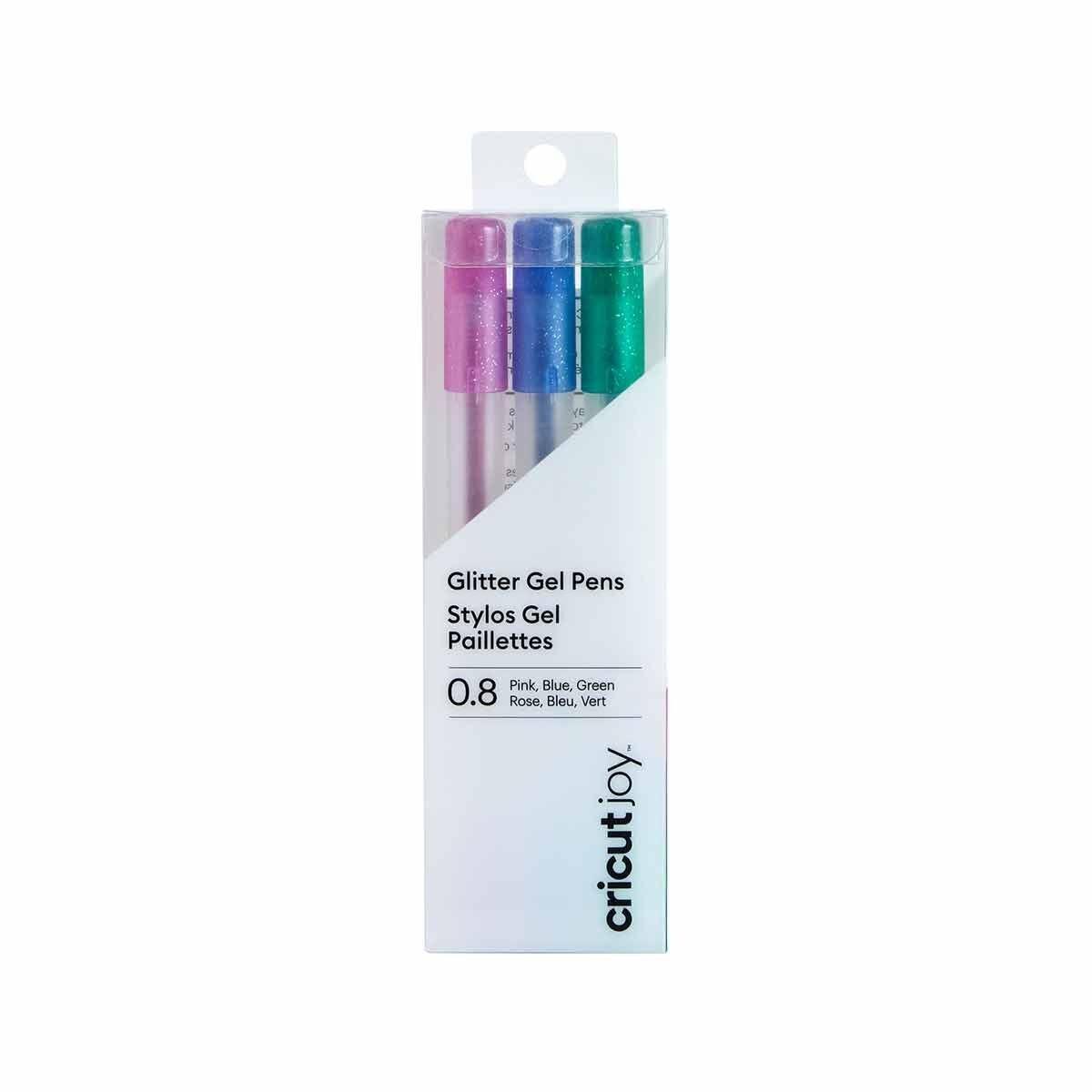Cricut Joy Glitter Gel Pen Set Pink/Blue/Green