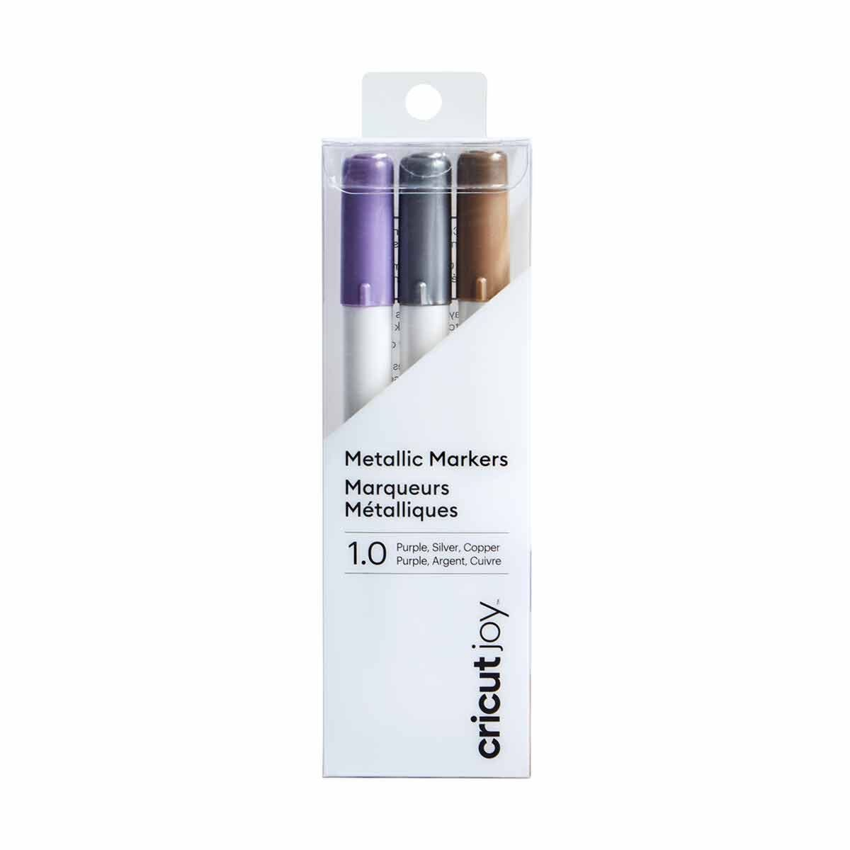 Cricut Joy Medium Point Markers Violet/Silver/Copper